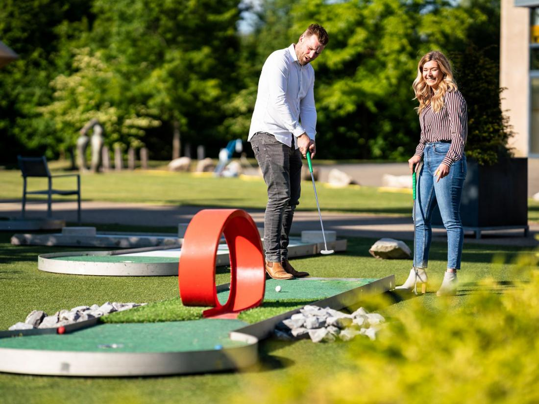 City Resort Hotel Mill Hotelovernachting Minigolf