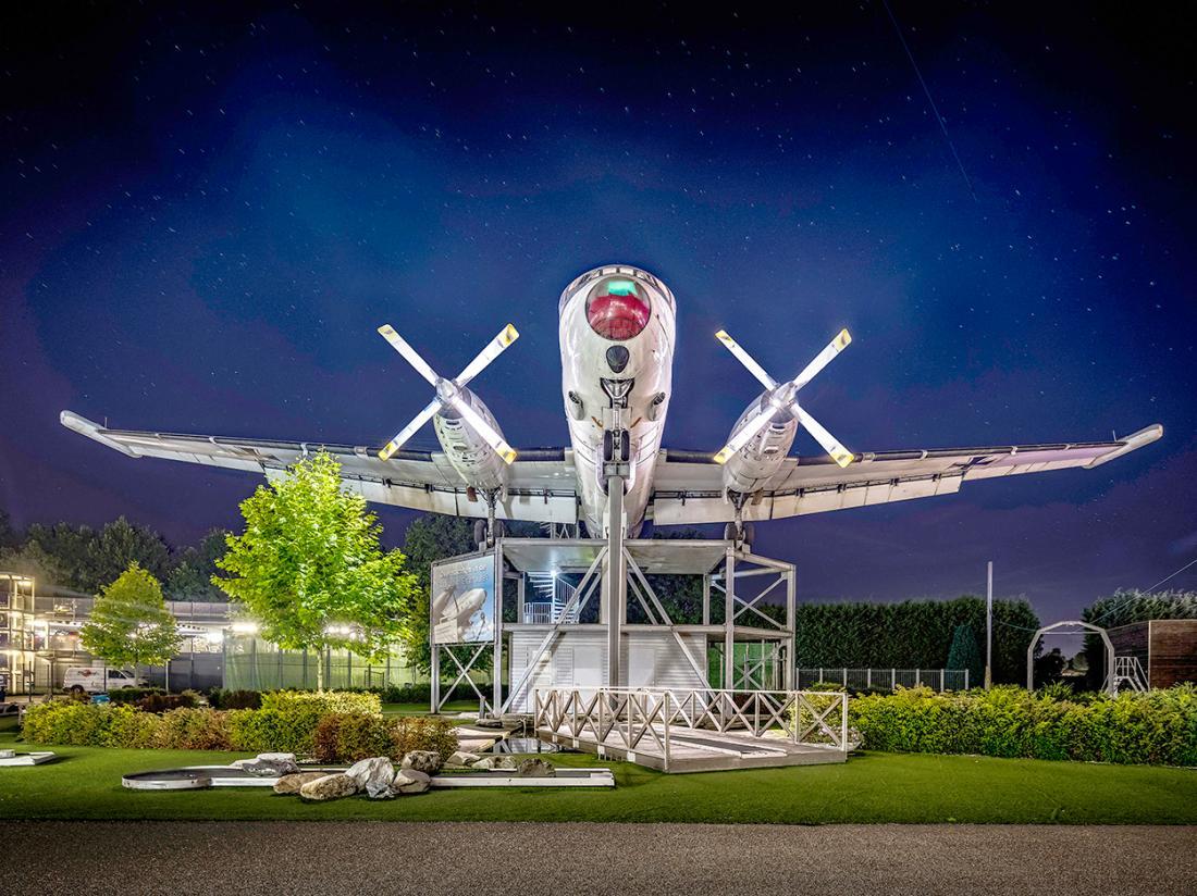 Hotelaanbieding Citry Resort Hotel Mill Vliegtuigsuite