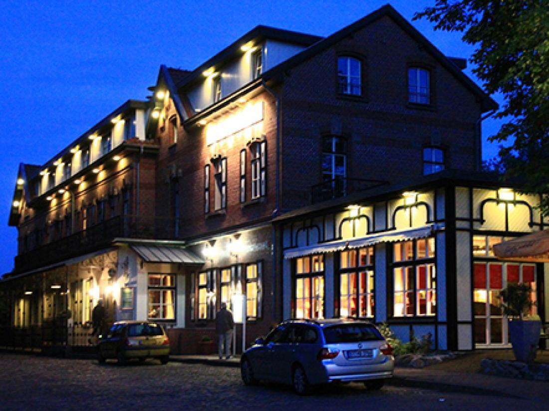 Hotel Bad Bentheim Duitsland avond