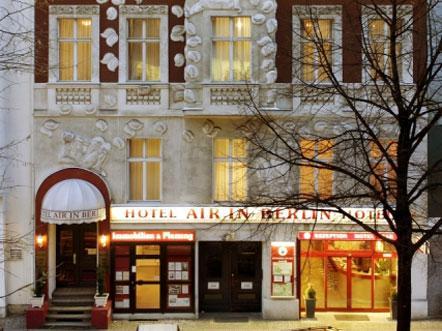 Hotelaanbieding berlijn duitsland vooraanzicht
