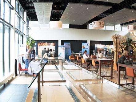 postillion hotel in Utrecht Bunnik binnentuin