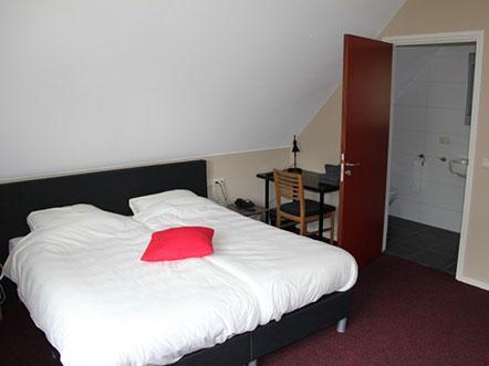 Hotelaanbieding Drenthe hotelkamer