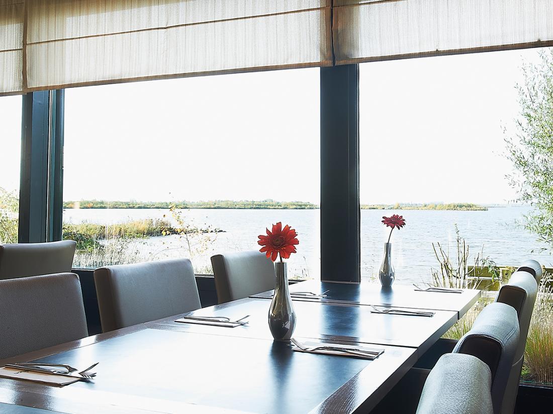 Hotelaanbieding Postillion Hotel Amersfoort Veluwemeer Gelderland Restaurant Uitzicht