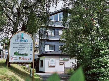 Hotel Lahnblick Westfalen Aanzicht