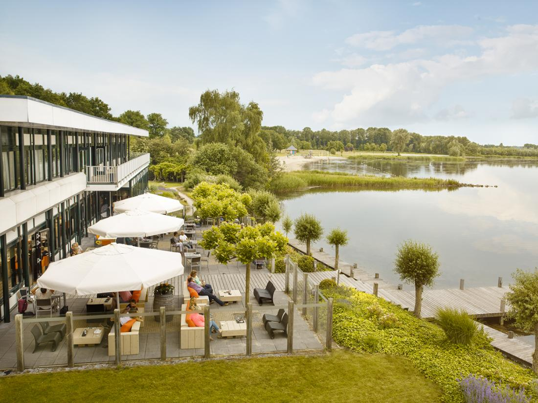 Hotelarrangement Postillion Hotel Amersfoort Veluwemeer Gelderland Terras