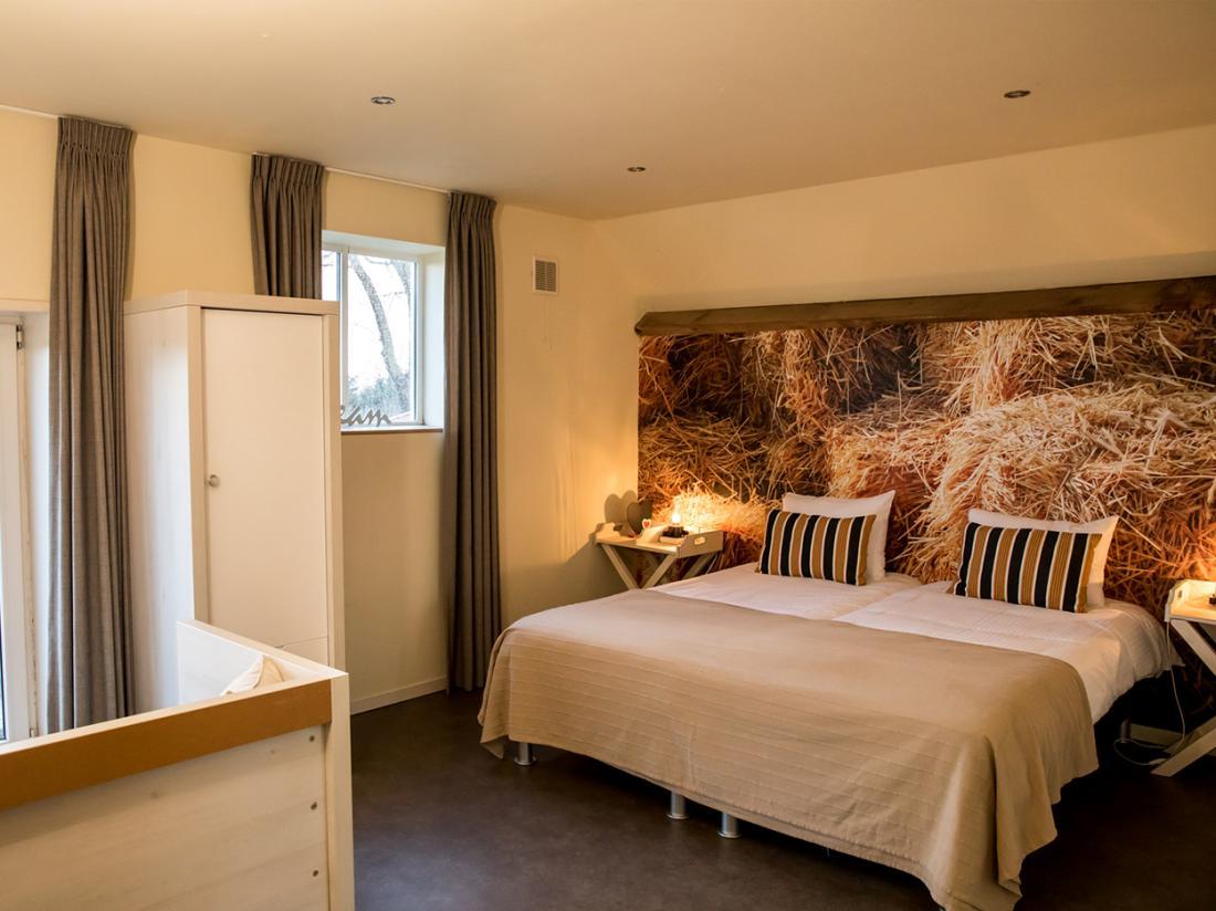 hotelappartement johanneshoeve slaapkamer