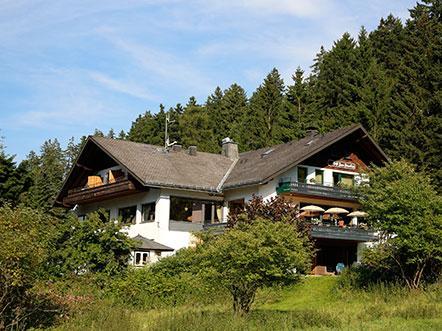 Hotel Zum Paradies Willingen Sauerland aanzicht