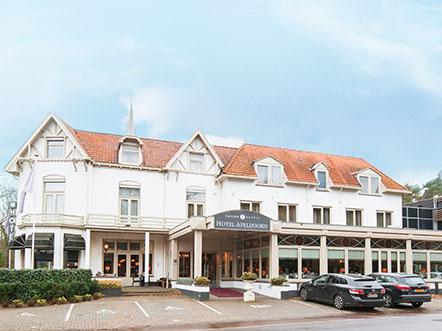 Fletcher Hotel Restaurant Apeldoorn Gelderland vooraanzicht