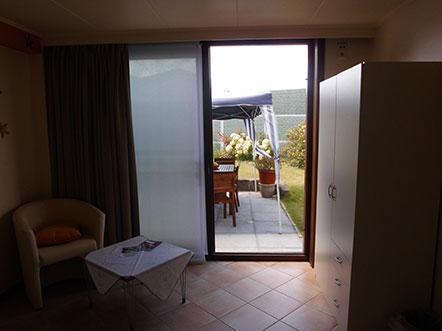 Bed And Breakfast The Protea Zonnebeke Uitzicht Op Terras
