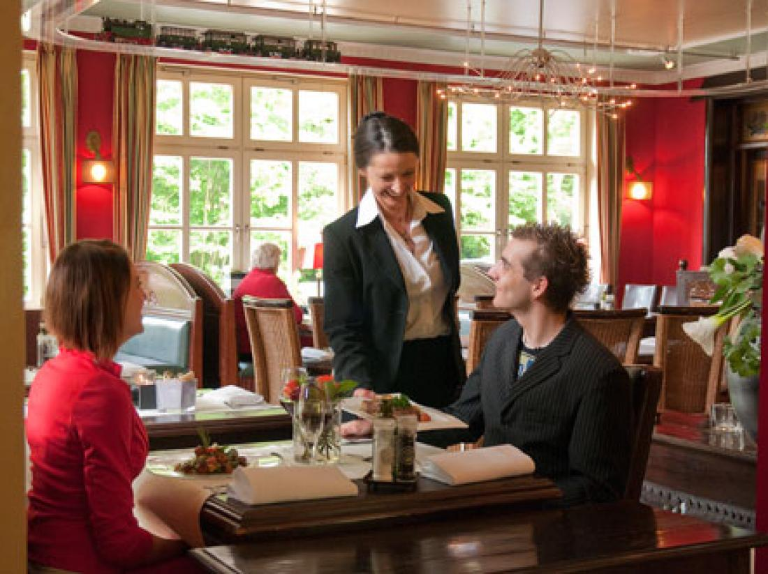 Hotel Bad Bentheim Duitsland Dineren