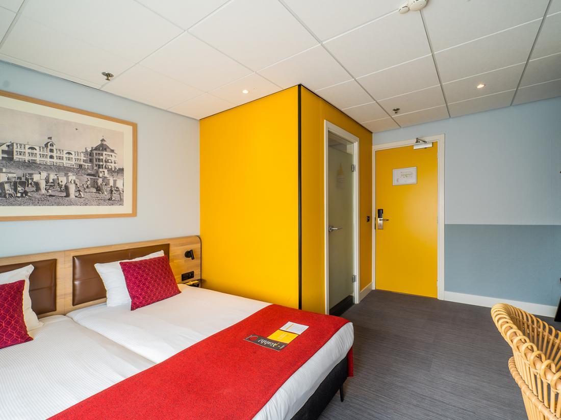 Weekendjeweg Noordwijk Hotelkamer Landzijde