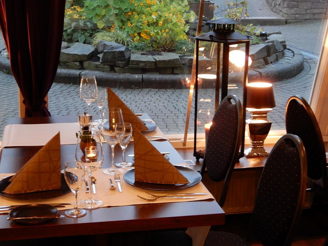 Das Loft Hotel Willingen Hessen Restaurant Opgedekte Tafel