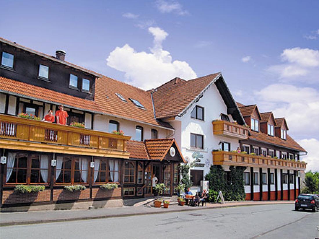 Hotel Igelstadt Sauerland aanzicht