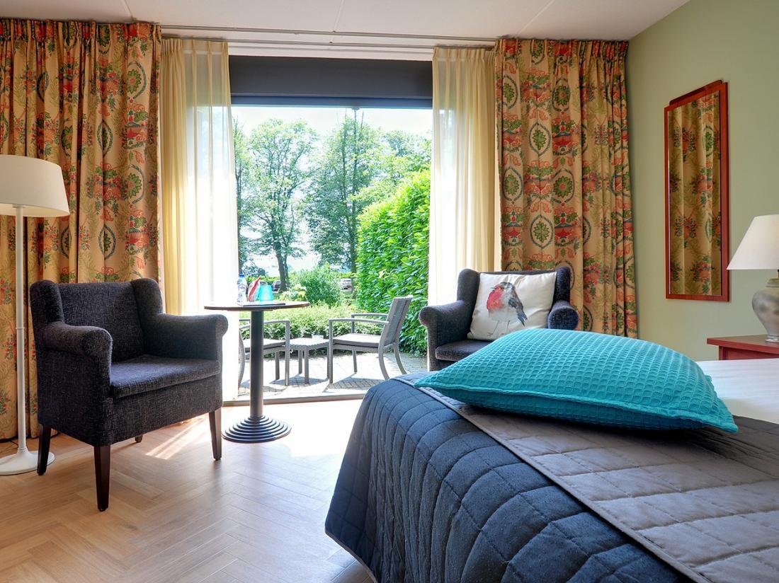 Boetiek Hotel BonAparte Barchem Hotelkamer Tuinzichtkamer Terras