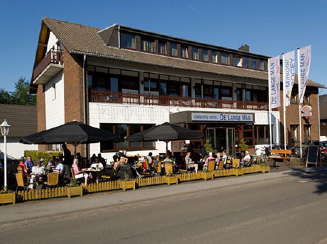 Hotel De Lange Man Monschau exterieur