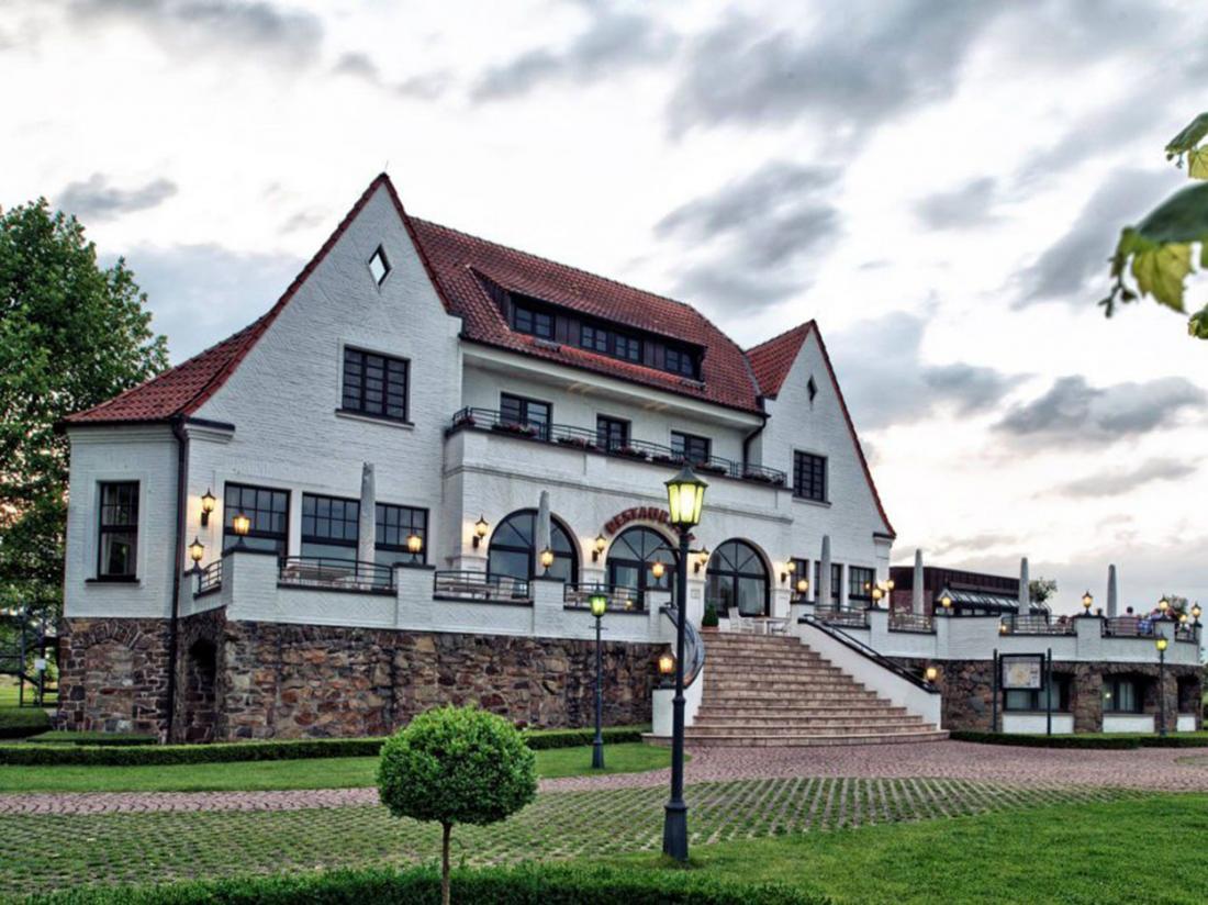 Rheinhotel Vier Jahreszeiten Meerbusch Hotel Vooraanzicht