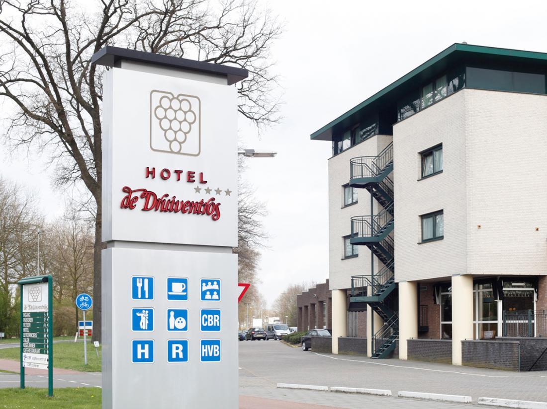 Hotel de Druiventros Noord Brabant Hotel Aanzicht