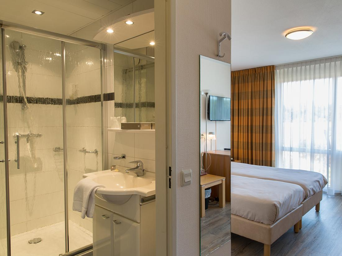strandhotel bos en duin Zeeland Hotelkamer