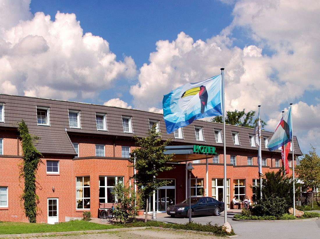 Van der Valk Hotel Spornitz Duitsland vooraanzicht hotel