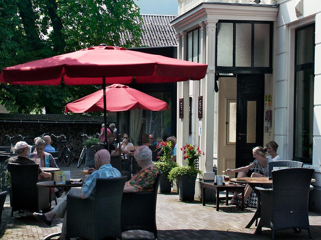 Hotel Lunia Friesland Terras