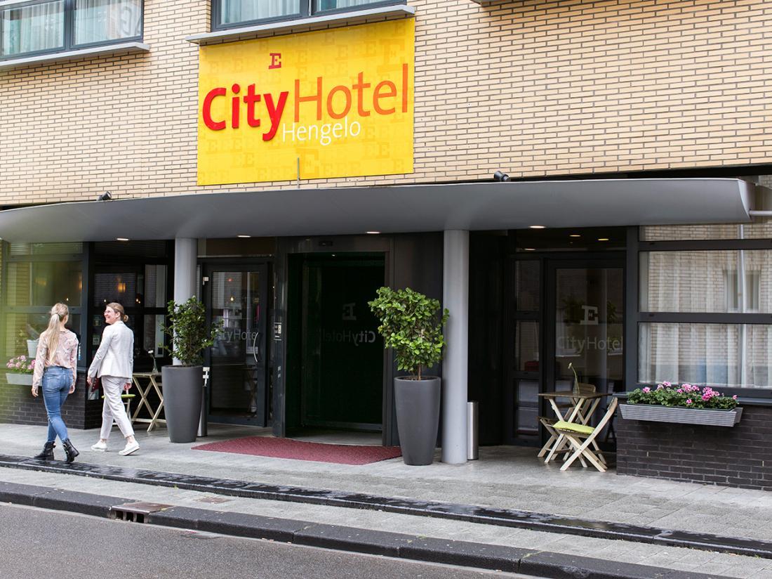 Eden Hotel City Hotel Hengelo Voorzijde