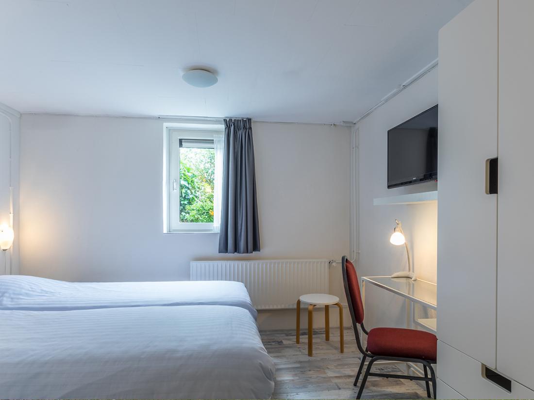 Slaapkamer weekendjeweg Residentie overnachting