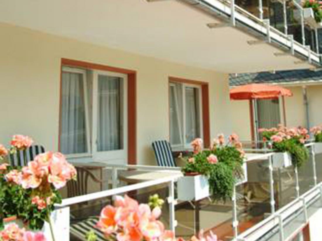 Hotel Alte Muhle Bad Bertrich Balkon