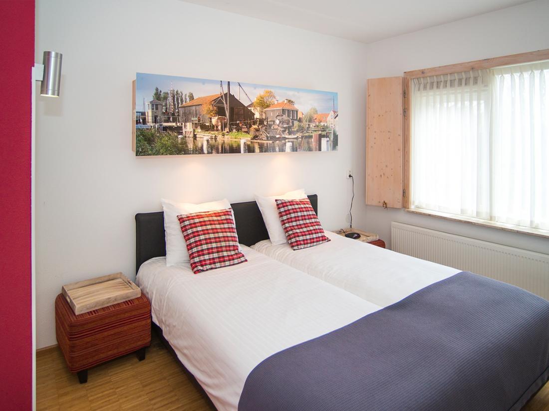 Hotel Friesland Weekendjeweg Noord Nederland Kamer Wymerts Workum