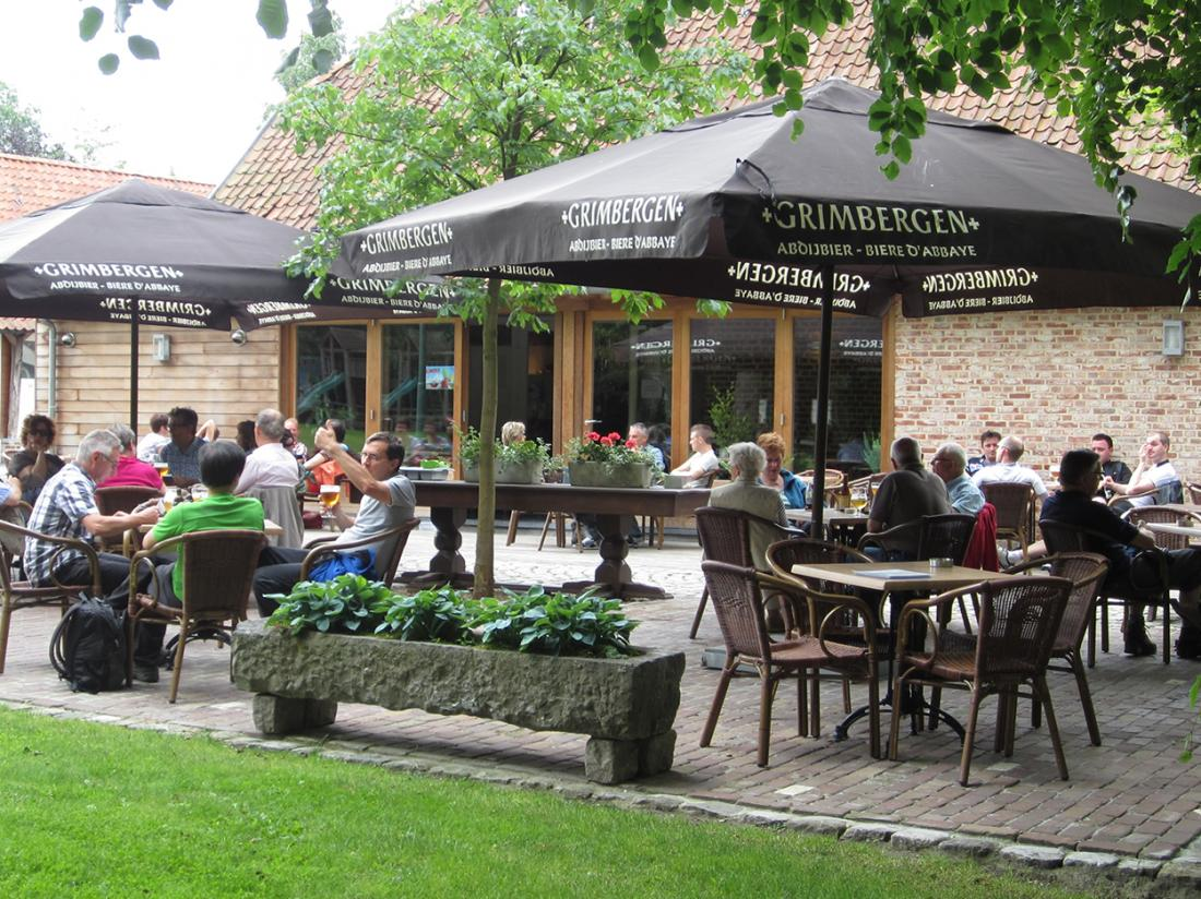 Hotel Brasserie de Hoogmolen Weekendjeweg Terras