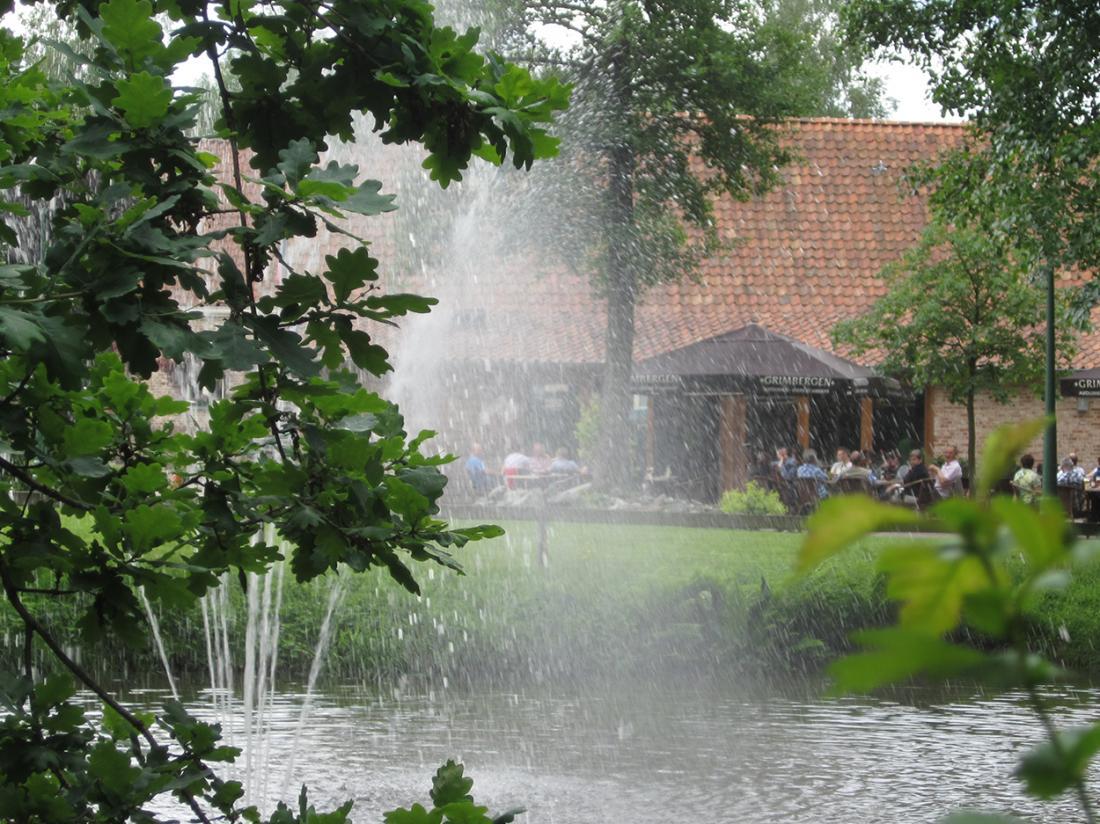 Hotel Brasserie de Hoogmolen Belgie weekendjeweg Vijver