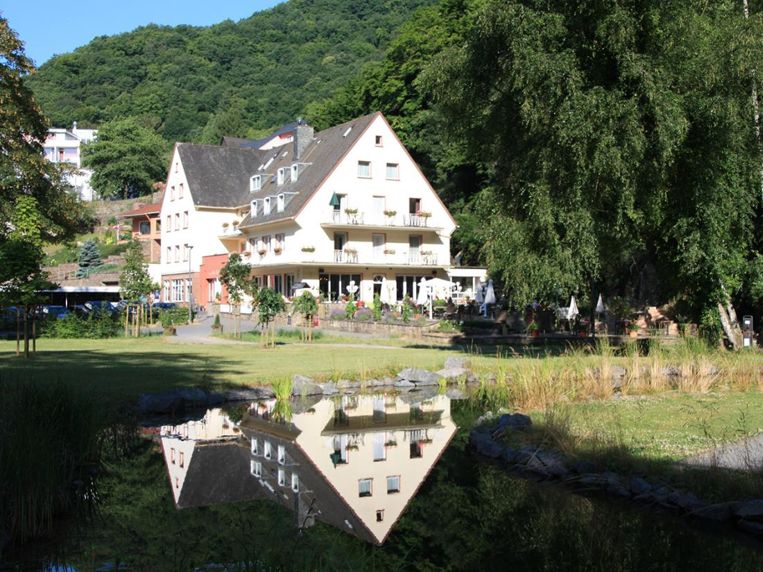 Hotel Alte Muhle Bad Bertrich Vooraanzicht