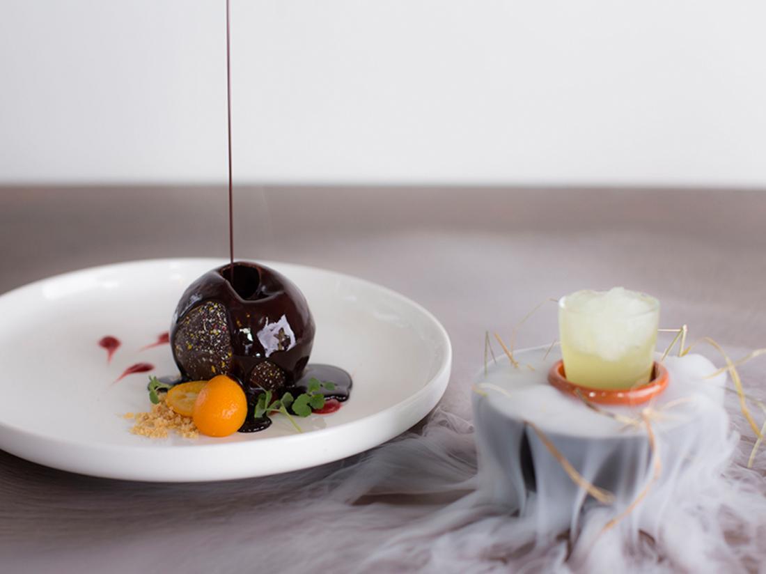 Golden Tulip West Ende Brabant Weekendjeweg Hotel dessert restaurant