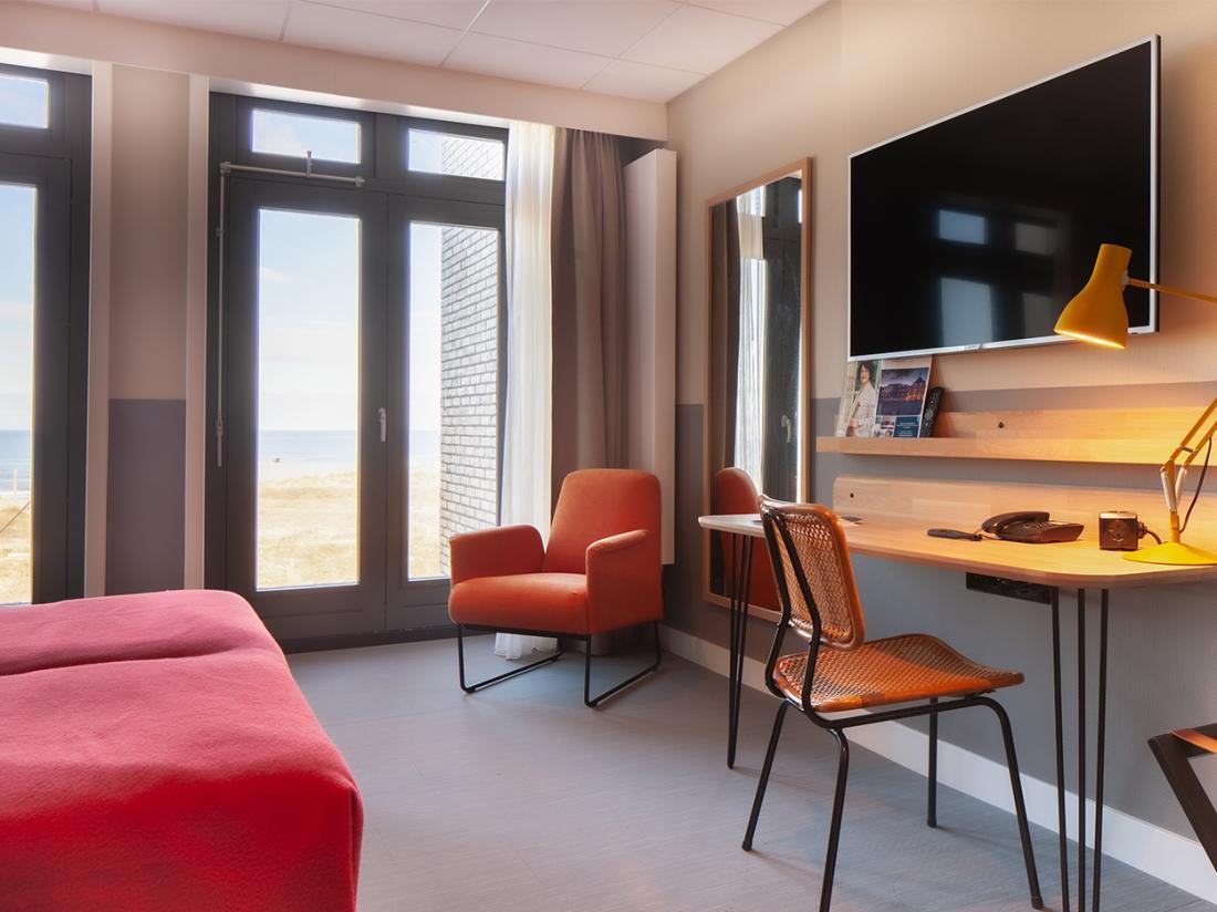 Weekendjeweg Noordwijk Hotelkamer Zeezijde
