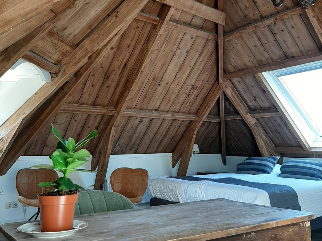 Hotel Herberg Joure Friesland Weekendjeweg Deluxe Kamer
